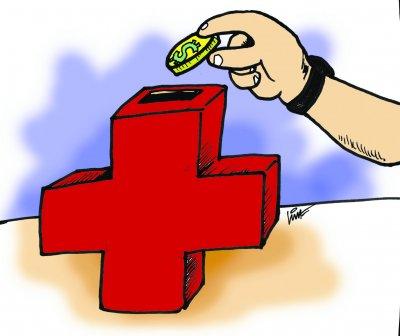 Resultado de imagem para saúde na balança charge